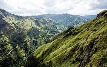 Hill Coutry in Sri Lanka